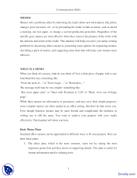 memo writing i effective business communication lecture handout this is only a preview
