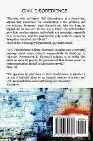 civil disobedience amazon co uk henry david thoreau civil disobedience amazon co uk henry david thoreau 9781453621707 books