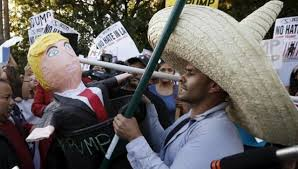 Image result for trump and Mexico