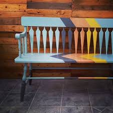 hallway bench by malenka originals painted with chalk paint by annie sloan bench painted chalk paint