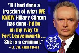 Ralph Peters Exposes Hard Truth About Hillary's Privilege | The ... via Relatably.com