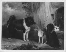 Thomas Musgrove <b>Joy</b> (1812-66) - <b>Three Dogs</b>: An Eskimo <b>Dog</b>, A ...