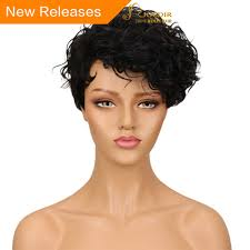 <b>Joedir</b> Brazilian Water Wave Remy <b>Hair</b> Short Human <b>Hair</b> Wigs For ...