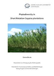 (PDF) <b>Phytodiversity</b> in Short Rotation Coppice plantations