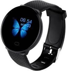 OSRAY <b>d19 Smartwatch</b> (Black Strap, free)