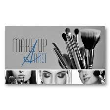 makeup artist cosmetologist beauty salon business card