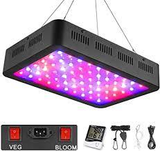 Amazon.com : <b>600W</b> LED <b>Grow Light</b>, WAKYME Full Spectrum Plant ...