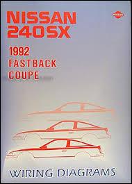 1992 nissan 240sx wiring diagram 1992 image wiring 1992 nissan 240sx wiring diagram manual original on 1992 nissan 240sx wiring diagram