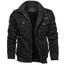 KEFITEVD <b>Men's Winter</b> Cargo Fleece <b>Jackets</b> Warm <b>Thick</b> Military ...