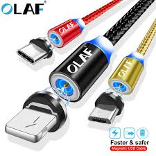 <b>OLAF Magnetic</b> Cable For iPhone <b>USB</b> Type C Micro <b>USB</b> Cable 8 ...
