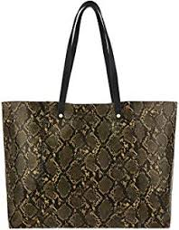 Accessorize London <b>Croc Tote Women's Bag</b> (Tan): Amazon.in ...