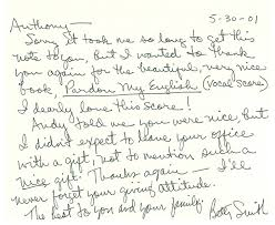 png betty smith thank you letter