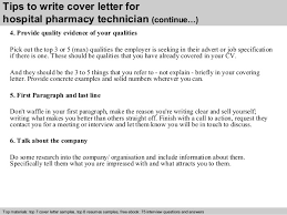 4 tips to write cover letter for hospital pharmacy technician pharmacy technician cover letter