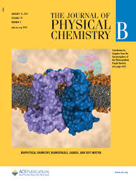 cover pages journal of physical chemistry b