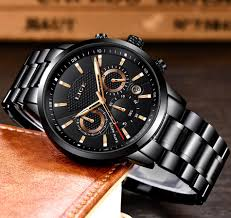 Shop Lige <b>Relogio Masculino LIGE Men's</b> Quartz Clock Male Casual ...