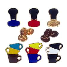 <b>Cartoon</b> Cute Coffee Cup Punch Pot Mocha Coffee <b>Beans</b> Brooch ...