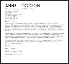 resignation letter due to health   resignation letters   livecareerresignation letter due to health sample