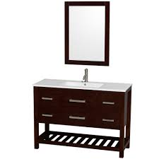 standard bathroom sink base cabi dimensions: wyndham collection wcss natalie quot single bathroom vanity with white porcelain countertop integrated sink