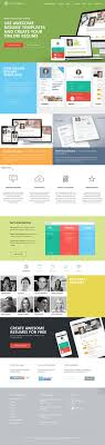 best images about cv flat design layout template flat design website example category inspiration website resume republic type website resume templates colorful