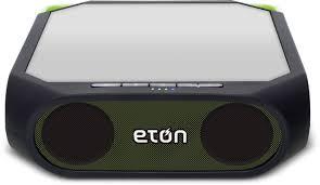 sound system wireless: amazoncom eton rugged rukus the solar powered bluetooth ready smartphone charging speaker home audio amp theater