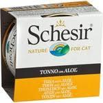 Купить <b>Консервы Schesir Nature for</b> Cat Tuna with Aloe кусочки в ...