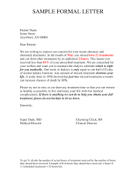 formal letter format example info official letter format how to write an official letter