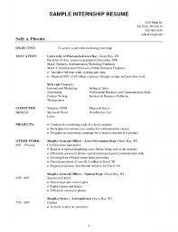 training internship college credits accounting finance resume      sample internship resumes for college students  x   sample internship resumes