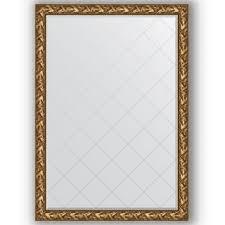<b>Зеркало с гравировкой</b> в багетной раме 130x185 <b>Evoform</b> ...