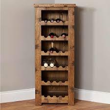 heyford rough sawn oak tallboy wine rack wine rack baumhaus space baumhaus mobel solid oak wine rack lamp