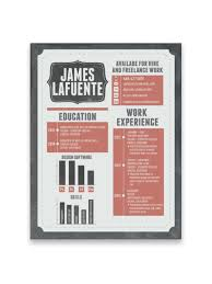 creative resume designs that can get you hired part  resume design of james lafuente