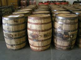 wish i knew about this site before i ordered a side table kentucky barrels authentic jim beam whiskey barrel table