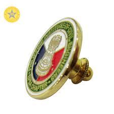 Factory Sale <b>Custom</b> Bronze <b>Gold</b> Finish Metal Medal Citizen <b>Badge</b> ...