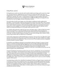 Handwriting Essay College Essay Writing Examples
