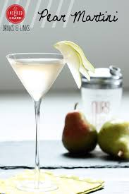 Martini Recipes Vodka Pear Martini Inspired By Charm
