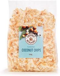 Coconut Merchant <b>Toasted Coconut Chips</b> (500g) (Toasted 500g x1 ...