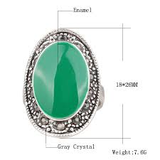 <b>Hot</b> 2018 <b>Vintage Tibetan</b> Silver Jewelry Green Black Red Enamel ...