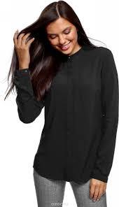 Блузка <b>женская</b>. 21411063-3B/48458, цвет: черный - купить ...