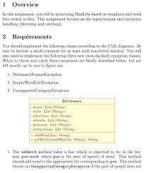 computer science archive com overview in this assignment you will be generating madlibs based on templates and word lists stored in files this assignment focuses on file input output