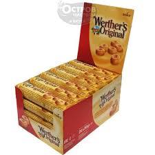 <b>Конфеты Werther's Original</b> карамельные со сливками, 50 г купить ...