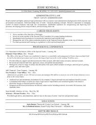 sample attorney resume templates resume sample information resume template attorney sample for adiministrative law professional experience
