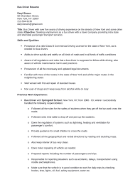 professional bus driver resume templateprofessional bus driver resume