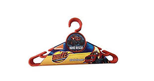 NICKELODEON CLOTH HANGER ROUND <b>6PCS BLAZE</b> - SIZE ...