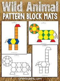 Pattern <b>Block</b> Safari - PreKinders