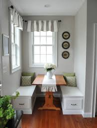 dining space narrow table