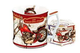 <b>Кружка</b> Мотоцикл <b>Триумф</b> 1970 г - <b>Carmani</b>-<b>кружки</b>. - Чайные ...