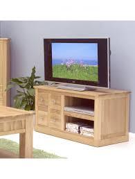 baumhaus mobel solid oak four drawer tv cabinet cor09a enlarged view baumhaus mobel solid oak drawer