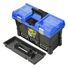 <b>Ящик</b> для инструмента Stuff CARBO 20 модульный черно-синий ...