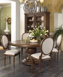 Dining Room Table 6 Chairs Universal Furniture California 7 Piece Dining Room Table Set Round