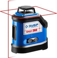 Линейный лазерный <b>нивелир ЗУБР Крест</b>-<b>360</b> ...