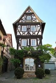 frnkischges fachwerkhaus timbered house in bad wimpfen germany building home office awful